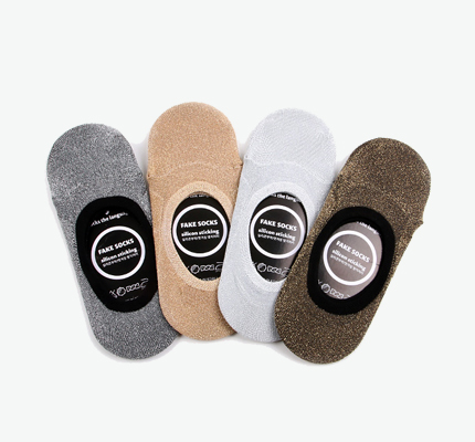 glitter fakesocks 4set반짝이덧신